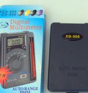 XB-866 Card Pocket Multimeter / Compact / Digital Portable Multimeter XB-866 Automatic Range