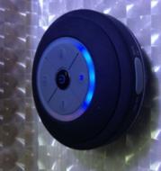 Mini Waterproof LED Speaker
