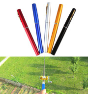 1 meters foreign trade Mini fishing rod, cross border Amazon WISH portable pen fishing rod Fishing Rod A