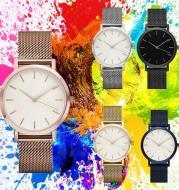 Steel-Band Fashion Quartz Watch