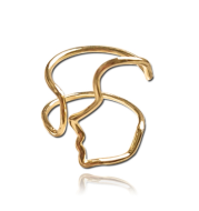 Face contour ring fashionable personality European and Americanring ring ring