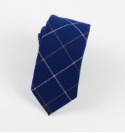 Fashion, cotton tie, narrow plate, business tie, Chinese style, fashionable man.