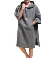 Quick-drying travel bath towel swim cape adult towel beach towel dressing robe cloak beach hoodie