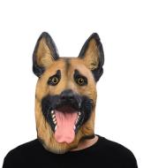 Halloween Masks Cartoon Man And Woman Horror Dance Adult Cos Latex Mask Caps Animal Police Dog Caps