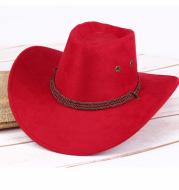 Summer men's sun hat, western cowboy hat, riding hat, camping, outdoor hat, imitation hat, hat.