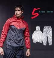 Men's Sportswear T-shirt sweat hooded jacket