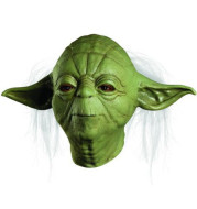 Cosmask Party Mask Star Master Halloween Costume Latex Yoda Mask Wars Bar Party Cosplay Scary Mask