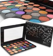 35 color eyeshadow pearlescent matte eyeshadow daily makeup eye shadow tray
