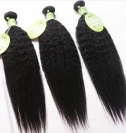 Overseas warehouse Brazil hair curtain wig Brazilian hair kinky Yaki straight
