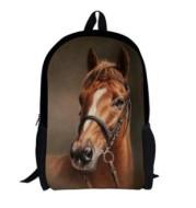 Student shoulder bag pony custom pattern bag 3D simulation animal backpack offload can be printed logo bag