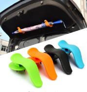 Car trunk umbrella clip