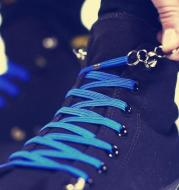 Funny Lazy No Tie ShoeLaces Quick and Easy Sneaker Elastic Shoelaces