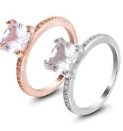 Explosion models zircon ring women's jewelry AliExpress Europe and America diamond ring