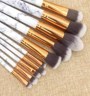 Marble Handle 10 Brush Set