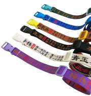 Hip-hop BF wind buckle can adjust decorative belt natural drooping men and women lovers embroidered ancient Chinese poetry belt