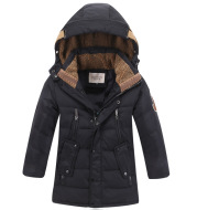 -30 Degree Children's Winter Jackets Duck Down Padded Children Clothing 2021 Big Boys Warm Winter Down Coat Thickening Outerwear