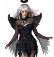 Dark Angel Costume Halloween Cosplay Fallen Angel