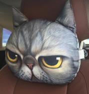 Cat Lovers - Cat Car Headrest Pillow