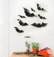 Halloween Fashion Luminous Three-dimensional Plastic Bat Home Corner TV Bedside Decorative Wall Stickers