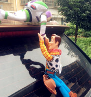 Lovely Toy Story Sherif Woody Car Doll Plush Toys Outside Hang Toy Cute Auto Accessories Hot Sell Car Decoration Toy