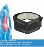 Adjustable Tourmaline Self-heating Magnetic Therapy Waist Support Belt