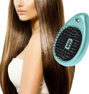 Electric Sound Wave Vibration Magnetic Massage Comb Portable Negative Ion Hair Comb