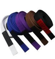 High quality cotton durable Brazilian Jiu-Jitsu clothing training belt