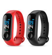 Smart Bracelet Heart Rate and Blood Pressure Exercise Meter Step Information Push Smart Reminder Color Bracelet