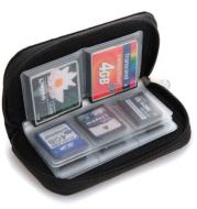SD SDHC MMC CF Micro SD memory card storage carrying bag wallet case