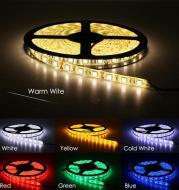 LED Light Strips Highlight 60 Light Beads Epoxy Waterproof Soft Strips