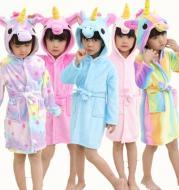 Adorable Fantasy Unicorn Robe for Kids
