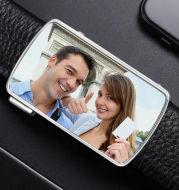 Men's Custom Photo Belt Buckle