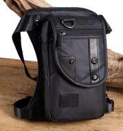 Flow leg bag fashion chest bag multi-function pocket waterproof nylon material lightweight men's diagonal package