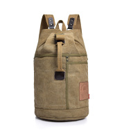 Large Capacity Canvas Letter Printing Rucksack