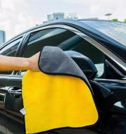 Two-color Couble-sided Car Dual-use Cleaning Car Wash Towel