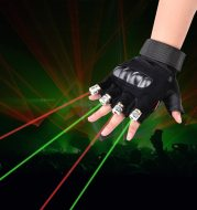 Stage Show  Red Green Laser Gloves