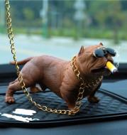 American Bully Dog Dashboard Decor