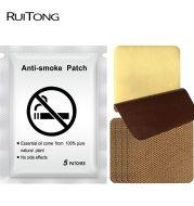 RuiTong 5pcs / bag smoking Pad 100% natural herbs quit smoking patch health therapy Anti smoke smoking patch