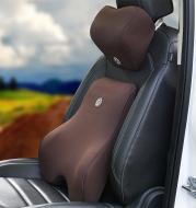 Car memory cotton lumbar suit pillow back pad waist car interior seat four seasons universal new slow rebound