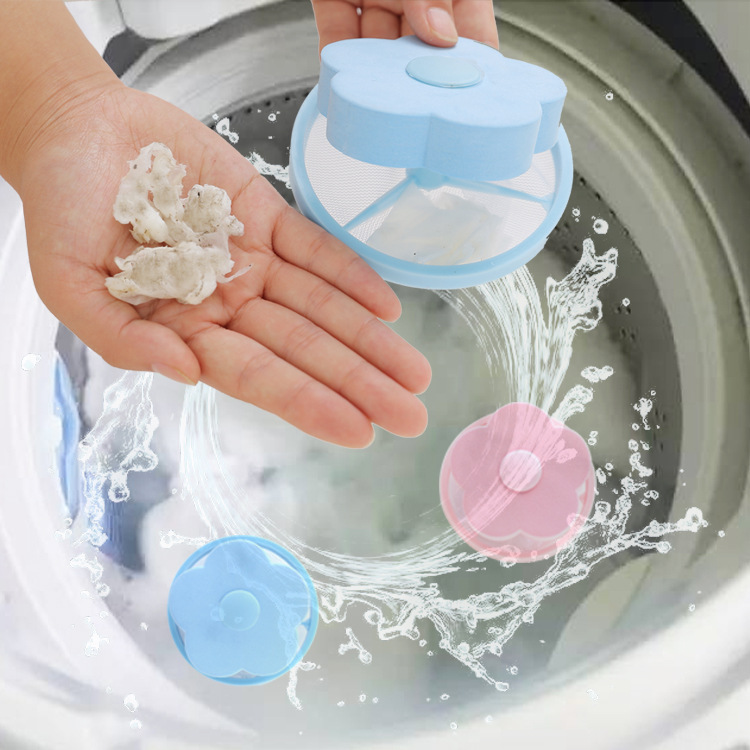 Washing Machine Lint Filter Pocket Ball
