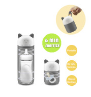 Portable Ultraviolet Rays UV Ozone Nipple Disinfection Sterilizer Rechargeable Baby Feeding Bottle