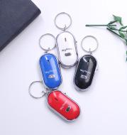 New LED whistle control induction key ring Elderly key finder Multi-function key anti-lost device