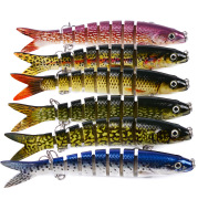 13.28cm Classic Lu Ya Duo fish 12 color bait 19g Lu Ya plastic bait hard bait HS014 squat mouth