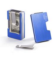 Fashion Bank Credit Card Holder Aluminum Delicate Metal Wallet
