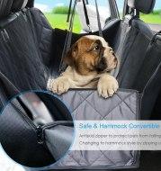 Thicken quilted pet car mat waterproof pet mat