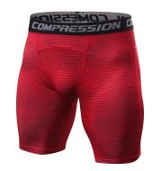 Breathable compression shorts men's MMA fitness training leggings
