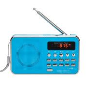 Multi-function card radio portable memory MP3 music player small speaker