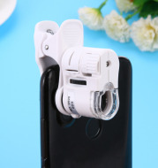 Digital Microscope Camera for Cell Phone with LED Light