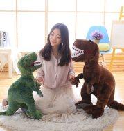 Simulation Dinosaur Doll Triangle Dragon Tyrannosaurus Plush Toy