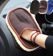Car type soft hair car wash cleaning gloves car motorcycle car wash car care cleaning tools